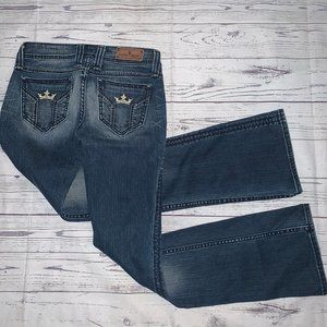 SANG REAL Miss Me King Charles Chosen One JEANS 26